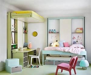 Meuble Pour Petit Espace : chambre pour deux enfants comment bien l 39 am nager ~ Premium-room.com Idées de Décoration