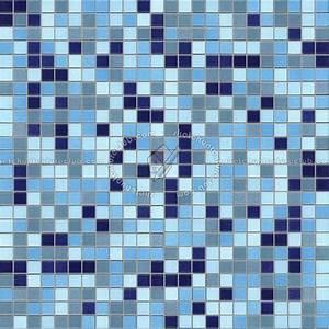 Mosaico Pool Tiles Texture Seamless 15687