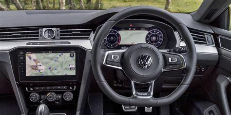 volkswagen arteon interior infotainment carwow