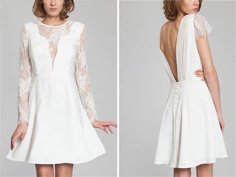 robe courte mariage civil createur robes mariage civil 5 cr 233 atrices coup de coeur pour dire