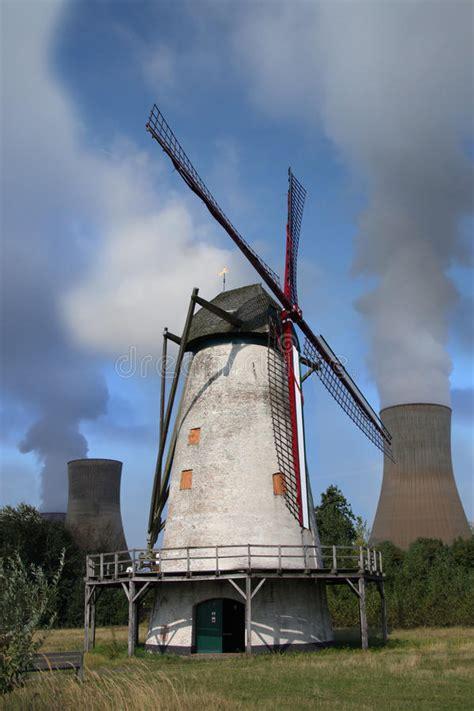 windmill  power plant royalty  stock photo image