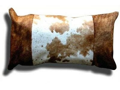 Cowhide Pillow Covers by Cowhide Pillow Cover Cushion Cow Hide Hair On Cover 12 Quot X