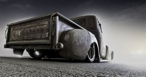 Chevrolet Pickup Truck Classic Retro Road Hd Wallpaper
