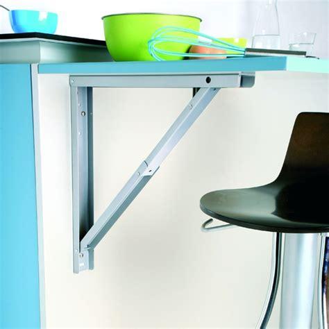 cuisine renovation plan de travail support de table rabattable aluminium sokleo oskab