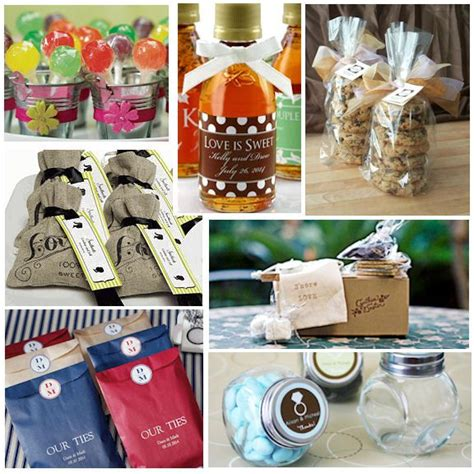 diy unique wedding favor ideas wedding and bridal inspiration