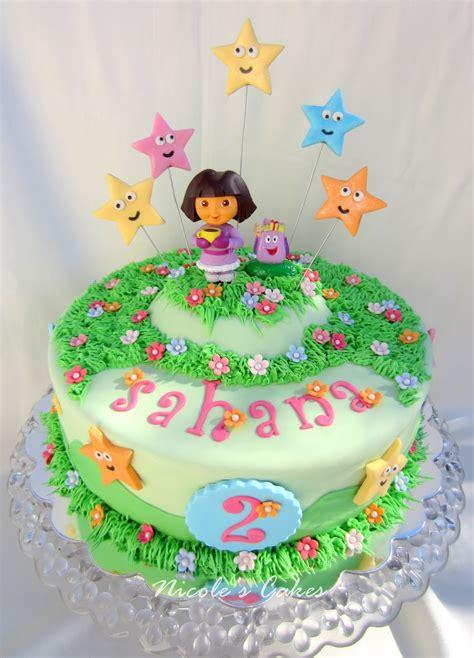 confections cakes creations dora  explorer