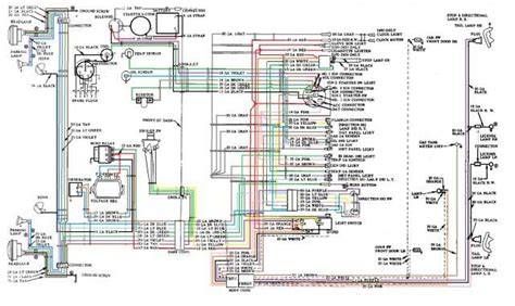 1956 Chevy Truck Wiring Diagram by 56 Wiring Diagram Colored Trifive 1955 Chevy 1956