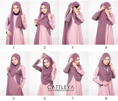 full chest coverage hijab tutorial  necklace hijab style tutorial hijab fashion