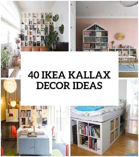 Ikea Kallax Ideen by 40 Ikea Kallax Shelf D 233 Cor Ideas And Hacks You Ll Like