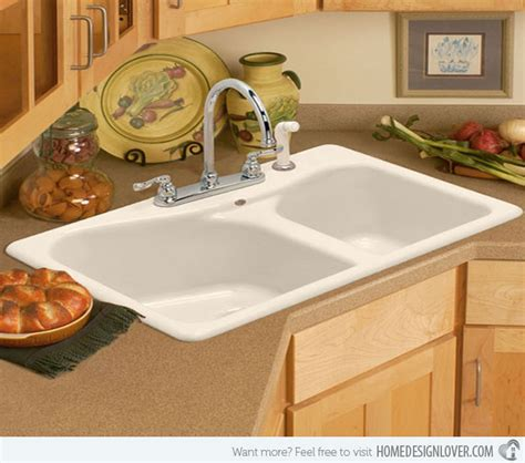 corner kitchen sink cabinet 15 cool corner kitchen sink designs home design lover