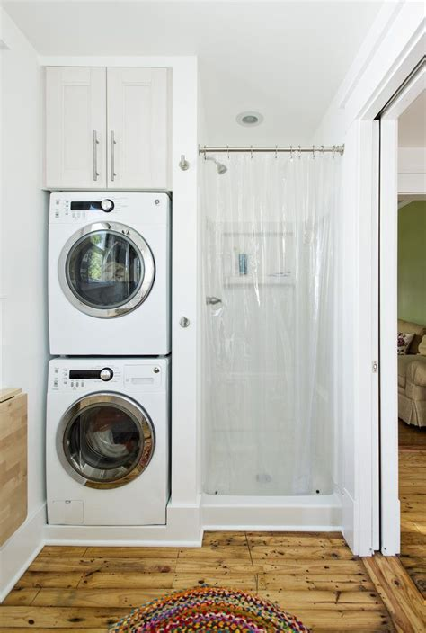 Bathroom Design With Washer And Dryer by How To Install A Stackable Washer Dryer In Your Bathroom
