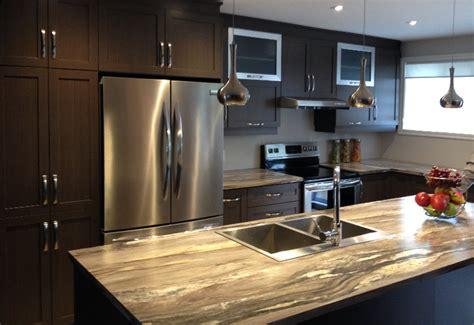 quincaillerie armoire de cuisine cuisine en polyester avec comptoir stratifié armoires à