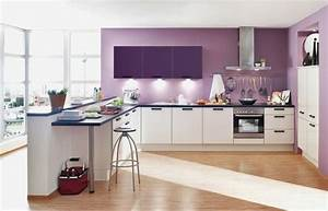 idees peinture cuisine ouverte With idee peinture cuisine ouverte