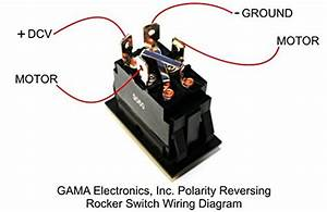 Rocker Switch Polarity Reverse Motor Control Maintained