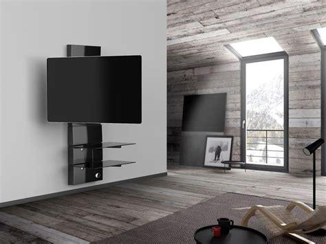 Support Tele Mural Meliconi Ghost Design 3000 R Noir Supports Tv Cobra Fr