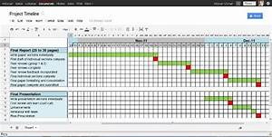 4 Project Timeline Excel Templates