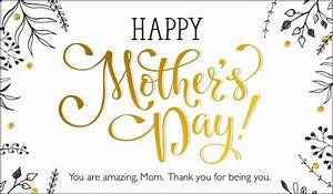 Happy Mother's Day - You are amazing, mom! eCard - Free ...