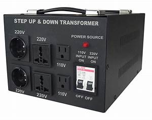 China 5000w Step Up Step Down Transformer With Multi