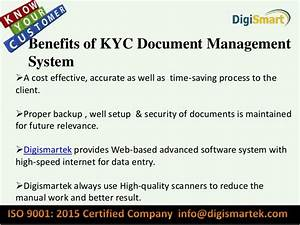 basic information about why kyc document management system With therefore document management price