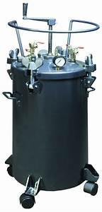 40-liter Pressure Tank With Manual Stirrer