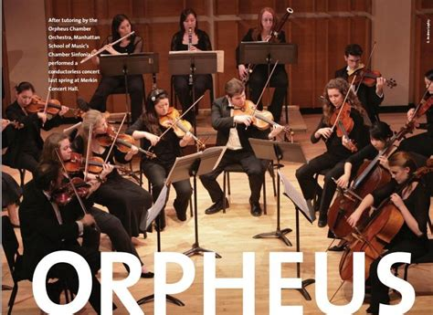chambre orchestra orpheus chamber orchestra chamber orchestra history