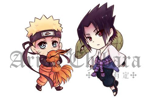 Naruto Sasuke Chibi Keychains On Storenvy
