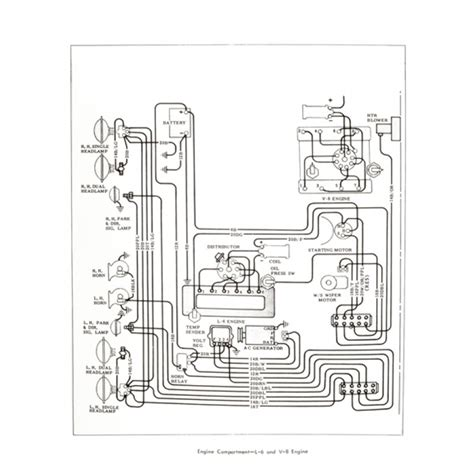 Chevy Chevelle Wiring Diagram Car Parts