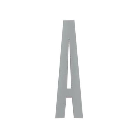 Arne Jacobsen Letters by Design Letters Arne Jacobsen Wooden Letter Grey A