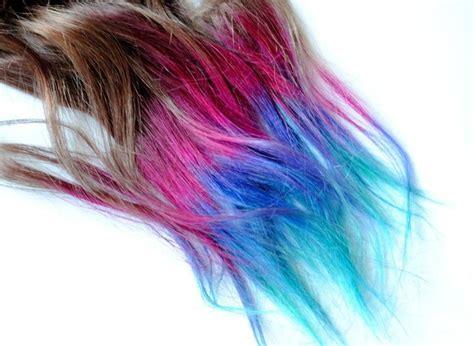 Dip Dyed Tips Human Hair Extensions Boho Lauren Conrad
