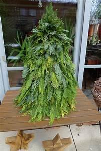 Basteln Mit ästen Und Zweigen : weihnachtsbaum aus gr nschnitt basteln karin urban naturalstyle ~ Whattoseeinmadrid.com Haus und Dekorationen