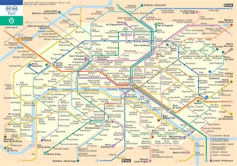 paris underground map