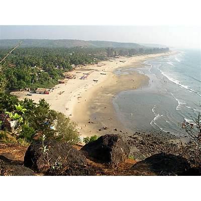 Kitesurfing Arambol Beach Goa India