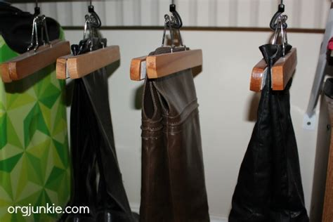 boot hangers for closet closet boot storage day 4