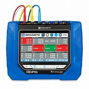 Dranetz Hdpq Xplorer 400 Power Quality Monitor