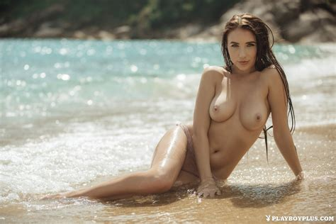 Luscious Niemira Picture Poses Naked On A Beach Photos