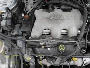 Coolant Leak On 2001 Pontiac Grand Am 3 4 L Engine - Ericthecarguy