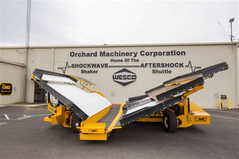 Shockwave Catch-All Systems - Orchard Machinery Corporation
