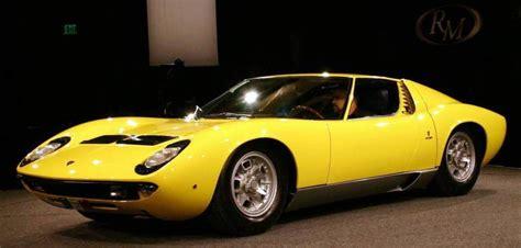 1967 Lamborghini Miura - Information and photos - MOMENTcar
