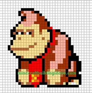 Pixel Art Voiture Facile : dessins en couleurs imprimer donkey kong num ro 72251 ~ Maxctalentgroup.com Avis de Voitures
