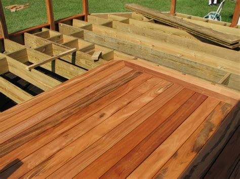 Tiger Wood Decking Maintenance by Tigerwood Deck Progress Decks Fencing Contractor Talk