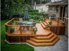Western Red Cedar Decking & Cedar Deck Plans ROYAL Decks