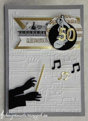 stampin  gold anniversary jubilaeum  dirigent