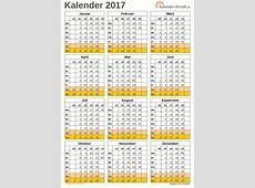 Kalender 2017 mit kw 2019 2018 Calendar Printable with