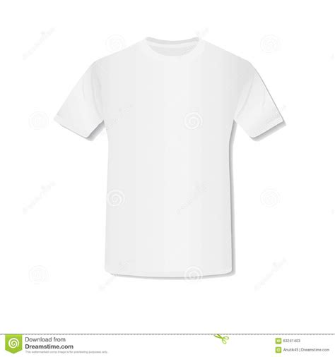 Shirt Images White T Shirt Vector Stock Vector Image 63241403