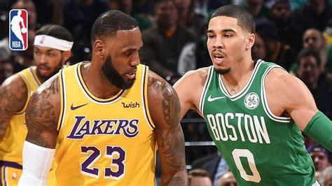 Lakers Vs. Celtics 1970s