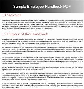 funky new employee handbook template image collection With new employee handbook template