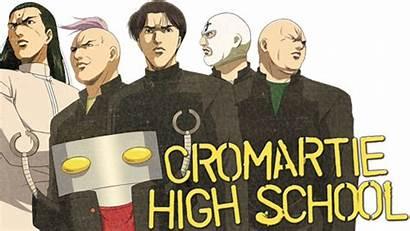 Cromartie Tv Fanart Manga Sakigake Koukou Highschool