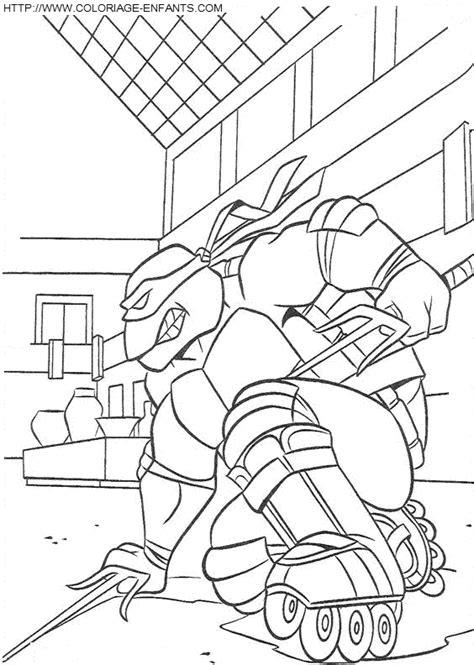 Dibujo Las Tortugas Ninja Turtles a colorear Paginas de