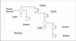 To Wire A Light Switch Diagram