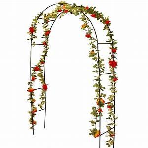 Arche Metal Pour Plante Grimpante : arche rosiers et plantes grimpantes m tal 240 cm ebay ~ Premium-room.com Idées de Décoration